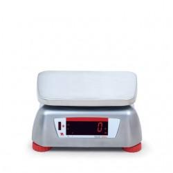 Bilancia alimentare Valor 4000 in acciaio inox Ohaus. Display posteriore