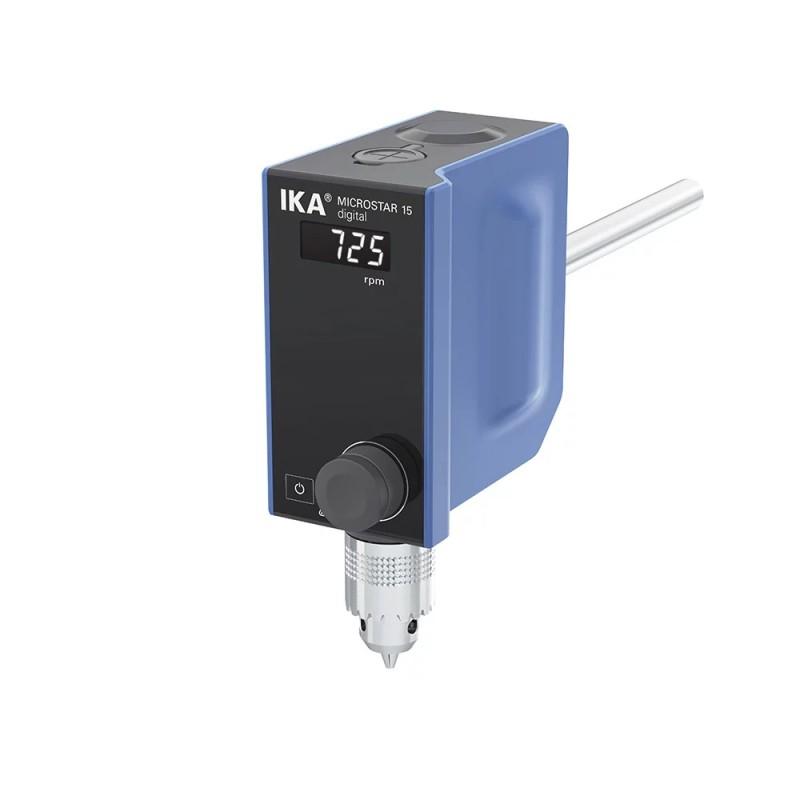 Agitatore ad asta MICROSTAR 15 digital IKA. Modelli compatti senza rinunciare alle prestazioni