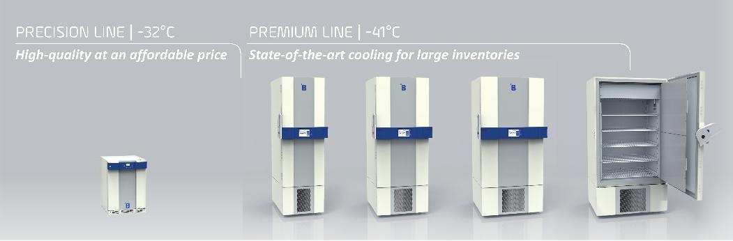 """""""F"""" serie. Congelatori al plasma prodotti da B Medical Systems"""