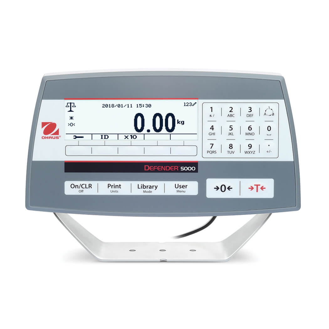 Display LCD Defender 5000 Ohaus