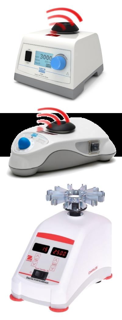 Agitatori vortex a vibrazione delle case produttrici Ohaus e Velp